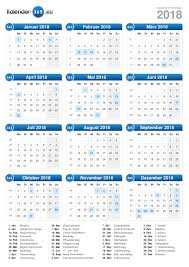 Kalender 2018 Germany Kalender 2018