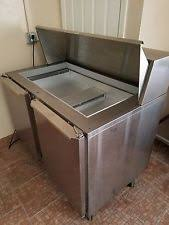 Used Sandwich Prep Table by Used Refrigerated Prep Table Ebay