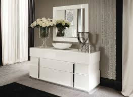 White High Gloss Bedroom Furniture Sets Italian Ecoleather Canova Bedroom By Alf Furniture Alf Bedroom