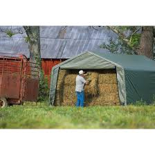 12 X 20 Canopy Tent by Storage Shelter 12 X 20 X 8 Ft