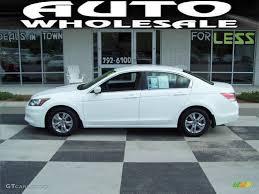 2011 honda accord white 2011 taffeta white honda accord se sedan 69028907 gtcarlot com