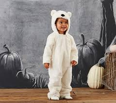 Baby Bear Halloween Costume Baby Polar Bear Costume Pottery Barn Kids