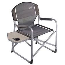 Folding Directors Chair Northwest Territory Director U0027s Chair With Fold Up Side Table