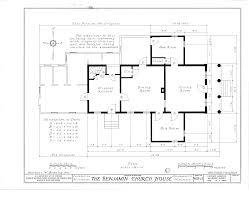 Greek Revival Floor Plans File Benjamin Church House 1533 North Fourth Street Milwaukee