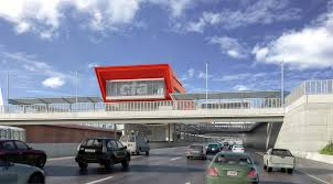 Cta Map Red Line 95th Dan Ryan Red Line L Station Renders Released Archpaper Com