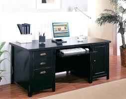 Black Glass L Shaped Desk Large Black Desk Bethebridge Co