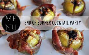 Summer Cocktail Party Recipes - julip made end of summer cocktail party menu