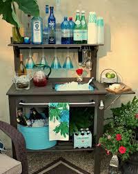 Diy Outdoor Bar Table Diy Outside Bar Ideas