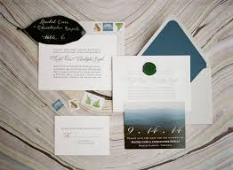 mountain wedding invitations mountain wedding invitations elizabeth designs the wedding