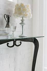 glass and metal console table target point modern deco glass and metal console table opt wall mirror