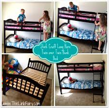 Stork Craft Long Horn Twin Over Twin Bunk Bed Review - Long bunk beds