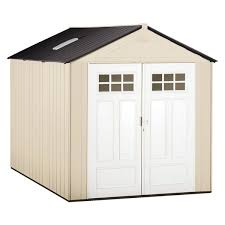 Backyard Storage Units Rubbermaid Outdoor Storage Sheds You U0027ll Love Wayfair