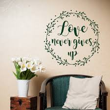 compare prices on bible scripture wall art online shopping buy hot selling scripture christian wall decals love never gives up adhesive vinyl home decor bible verse