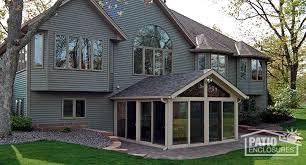 vinyl sunroom addition pictures ideas u0026 designs patio enclosures