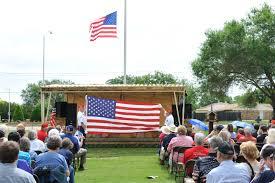Flag Folding Ceremony Longhorn Detachment 1069 Marine Corps League 2014 Memorial Day