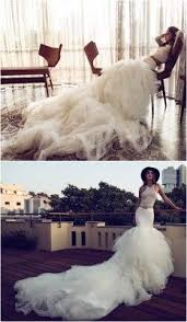 wedding statements these wedding dresses are undoubtedly a fashion statement
