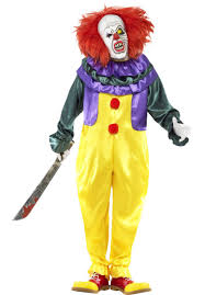 costumes scary classic horror clown costume scary clown escapade uk