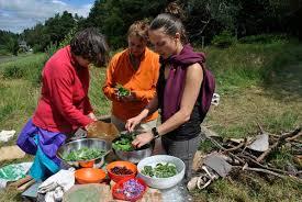 la cuisine des plantes sauvages séjours autour des plantes sauvages et comestibles aluna voyages