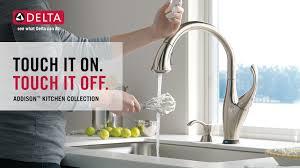 touch faucet kitchen the design605403 delta touch kitchen faucets throughout faucet