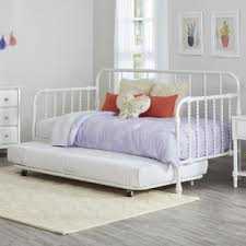 White Trundle Daybed White Daybeds You Ll Wayfair