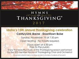 2017 hymns of thanksgiving