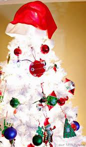 Retro Christmas Tree Toppers - traditional u0026 retro fun christmas trees our fifth house