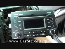 how to kia sorento troubleshooter and stereo removal 2011 2013