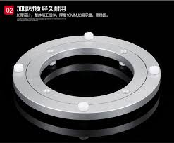 small lazy susan for kitchen table 1pc 14cm 20cm 25cm 30cm 35cm aluminium alloy small lazy susan