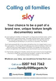 Seeking Where Is It Filmed New Sky Tv Series Is Seeking Families To Take Part