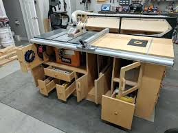 table saw station plans table saw station table saw station pdf abundantlifestyle club