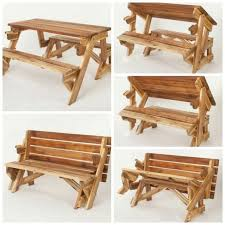 Folding Picnic Table Bench Diy by Best 25 Foldable Picnic Table Ideas On Pinterest Diy Picnic