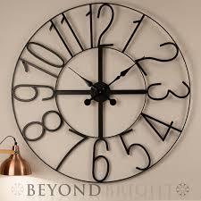 howard miller lacy ii wrought iron wall clock
