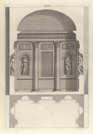 design for a corinthian hall in the architecture of a palladio