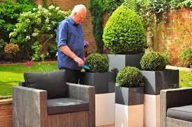 garden pot patio u0026 garden planter pots modern tokyo planter