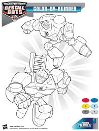 perfect rescue bots coloring pages free download printable
