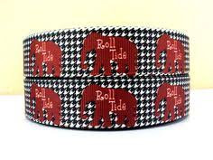 alabama ribbon 7 8 college grosgrain ribbon by starpremierdesigns on etsy
