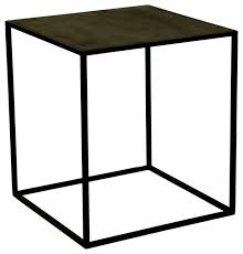 Black Accent Table Chic Metal Outdoor End Tables Patio Accent Table Outdoorlivingdecor