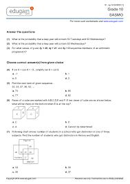 grade 10 sasmo printable worksheets online practice online