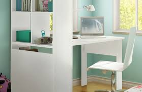 Room Essentials Storage Desk White Desk With Shelves Decorating Prettya Micke Desk In White