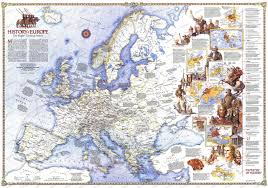 Map Tapestry 1983 History Of Europe The Major Turning Points Map Historical Maps