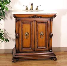 solid wood bathroom vanities vanity contemporary oak finished