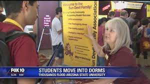 thousands flood asu as students move into dorms story ksaz