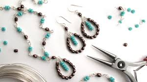 wire necklace making images Wire wrapping for beginners online jewelry workshop jpg