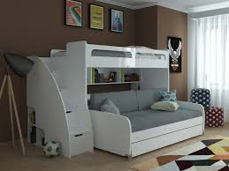 Bunk Bed Systems With Desk Versatile Bunk Bed System With Sofa Pull Out Trundle Desk And