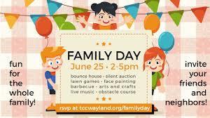 Family Day Invitation Card 2017 May Waylandenews