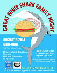 great white shark family night with dr greg skomal cape cod