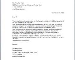 how to write admission acceptance letter 100 original