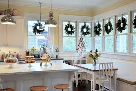 Christmas Decoration For Kitchen by Imposing Ideas Christmas Kitchen Decor Top 40 Holiday Decoration