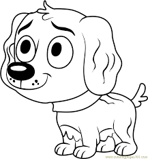 pound puppies vanilli coloring free pound puppies coloring
