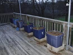 deck vegetable garden planters deck design and ideas